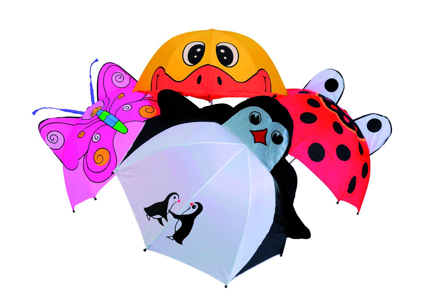 Зонт детский подводный мир 3