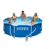 Каркасный бассейн Intex Metal Frame Pool 56996/28212