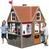 Деревянный домик Greystone Cottage Playhouse Kidkraft, P280093