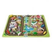 Melissa & doug MD5195 Deluxe Road Rug Play Set (МЕГА-набор