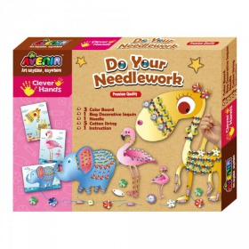 Набор для вышивания Avenir Clever Hands Do your Needlework Animals