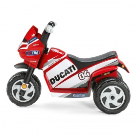 Электромотоцикл Peg-Perego Mini Princess, Mini Ducati MD0004, MD0003