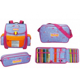 Школьный ранец Scout Basic Easy II Butterfly ALL INCLUSIVE